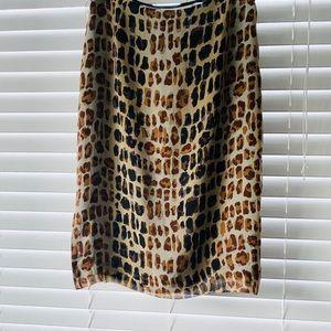 Alfani Silk Pencil Skirt Size 4
